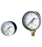 Manometri a molla tubolare, esecuzione standard DN 40- 50