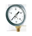 Manometri a molla tubolare esecuzione antivibrazioni DN50
