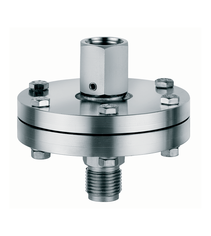 Diaphragm seal with threaded connection nuova fima
